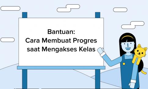 Cara Membuat Progres saat Mengakses Kelas